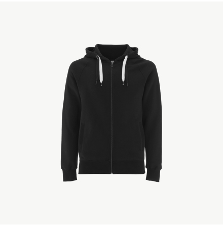 Men´s / unisex organic cotton zip-up hoodie