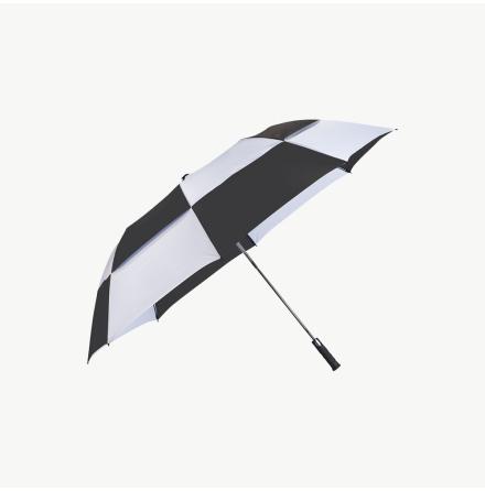 """30"""" Harlequin paraply, ventilerat paraply med auto-öppning"""