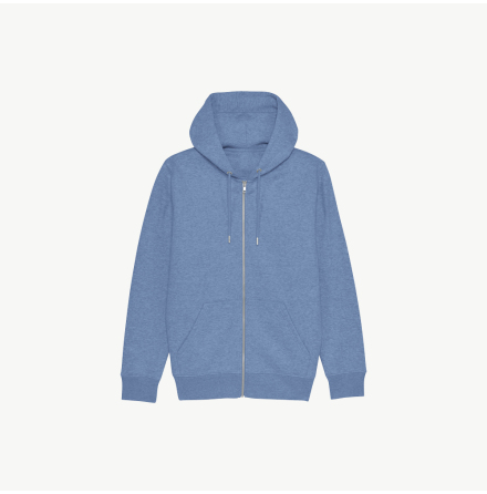 Happy Icon Eco Zip-Hoodie
