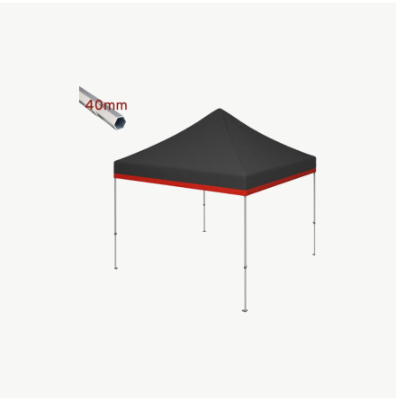 Profilerade tält med tryck för nästa mässa eller event!